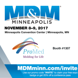 Md&m Minneapolis 2017, ProMed Molded Products Md&m